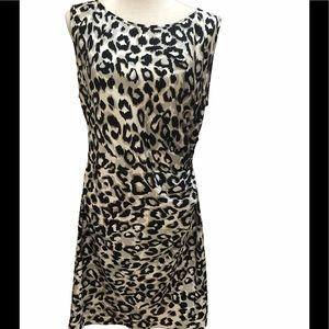 DKNY Leoparad Dress Size 12